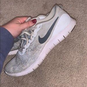 White Nikes